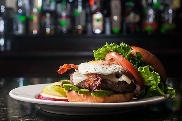 California Club Burger at FSB