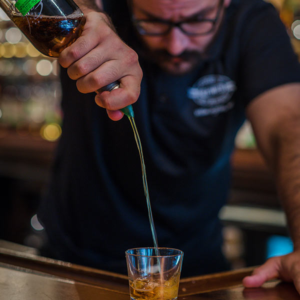 Whiskey Pour at Front Street