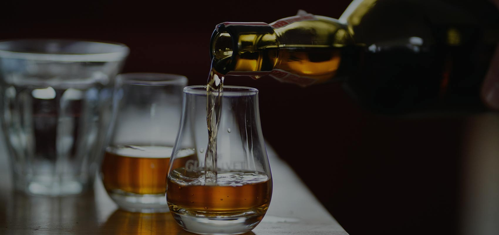 $15 Whiskey Flight of the Month