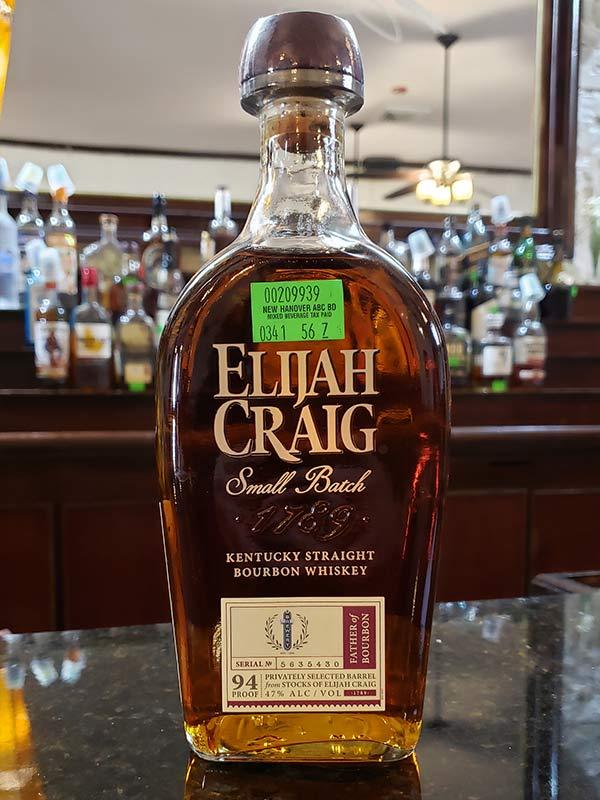 Hand Select Whiskey: Elijah Craig Small Batch