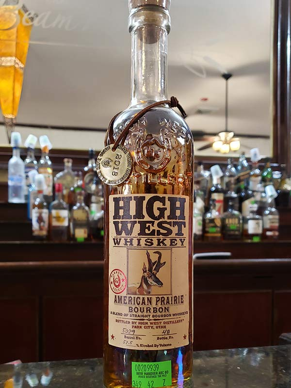 Hand Select Whiskey: High West Whiskey
