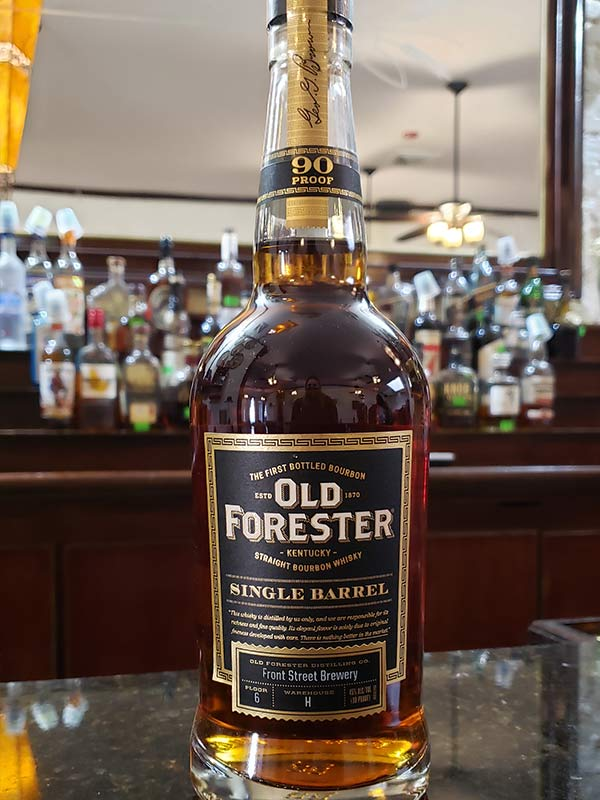 Hand Select Whiskey: Old Forester Single Barrel