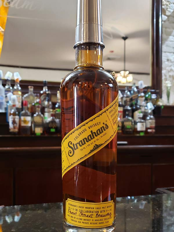 Hand Select Whiskey: Stranahan's Colorado Whiskey