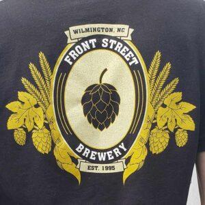 FSB Hops Badge T-Shirt in Black