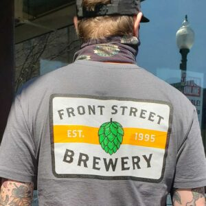 Front Street Brewery Est. 1995 Patch Tee