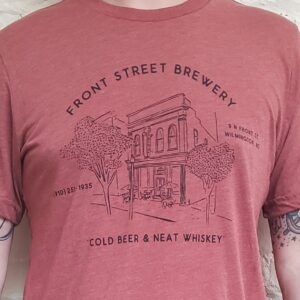 Red Building T-shirt
